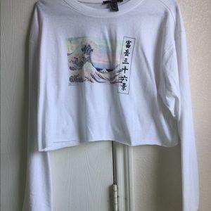 NWT Graphic T-shirt Great Wave Shirt Art Shirt